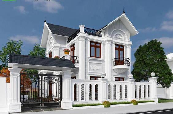 6 mẫu thiết kế biệt thự 2 tầng đẹp được ưa chuộng nhất hiện nay