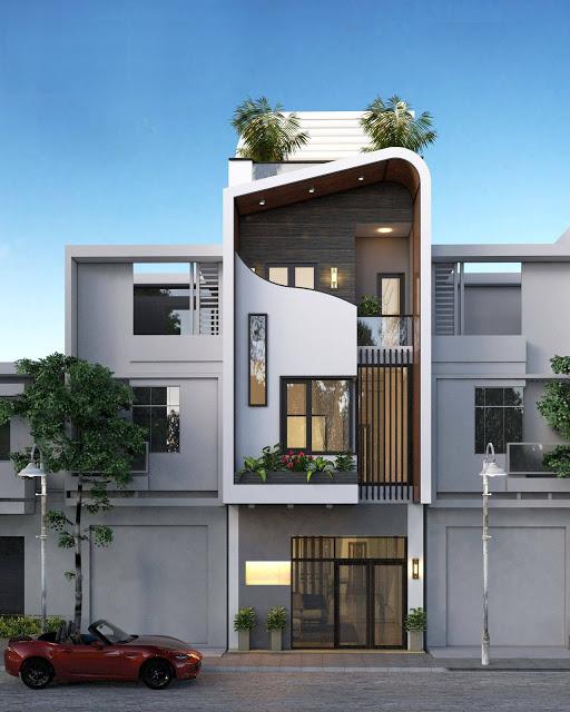 Tuyển tập những mẫu Thiết kế nhà phố đẹp và độc đáo nhất năm 2020
