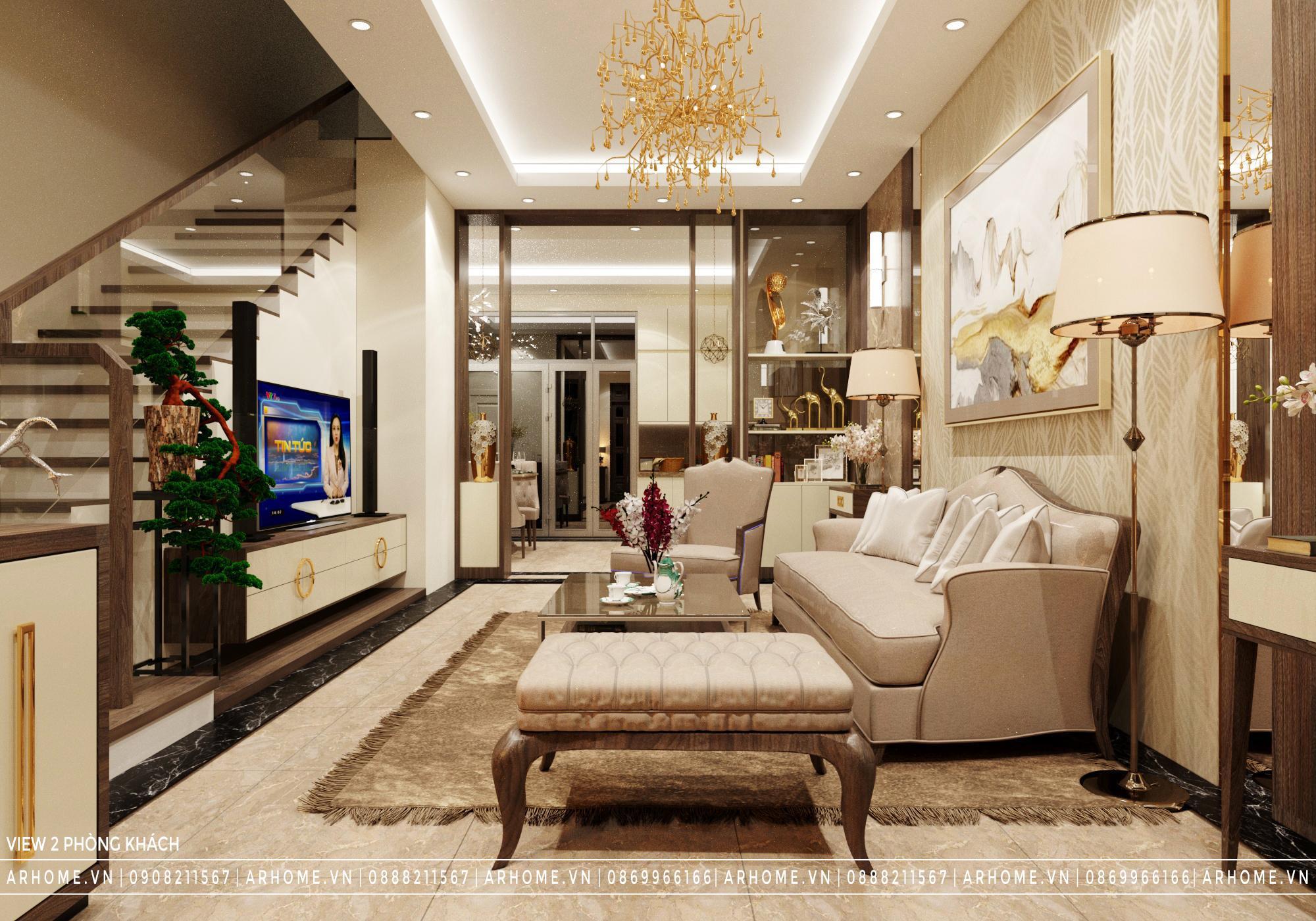 Cập nhật xu hướng Thiết kế nội thất Phòng khách 2021
