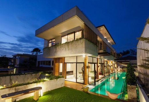 Hút hồn với mẫu thiết kế biệt thự 2 tầng phong cách hiện đại tại Hà Nội