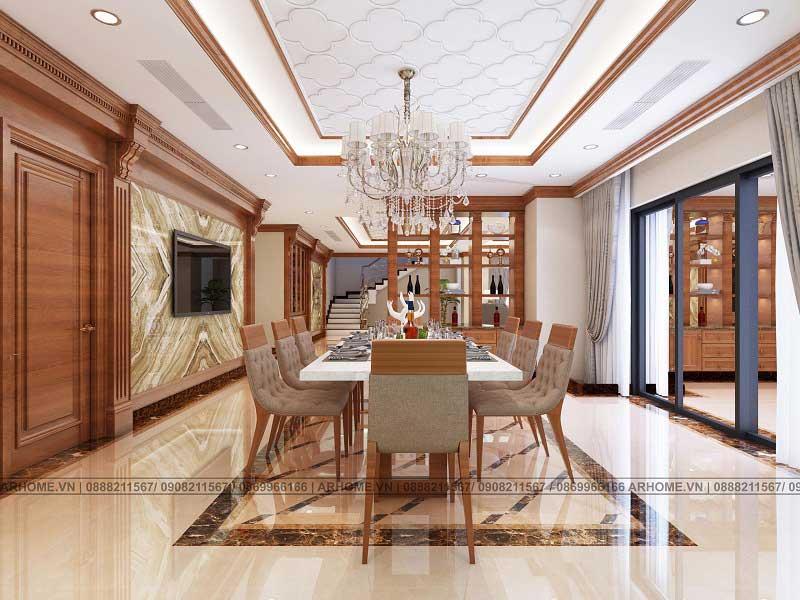 Thiết kế thi công nội thất trọn gói cho căn hộ Penthouse Tecco Complex Thanh Trì