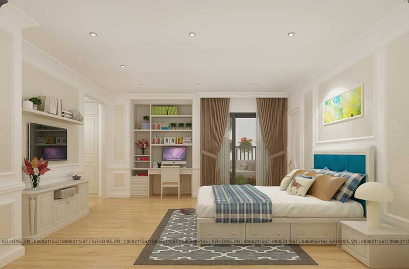 Thiết kế nội thất căn hộ Penthouse dự án Tecco Complex đẳng cấp, sang trọng (Phần cuối)