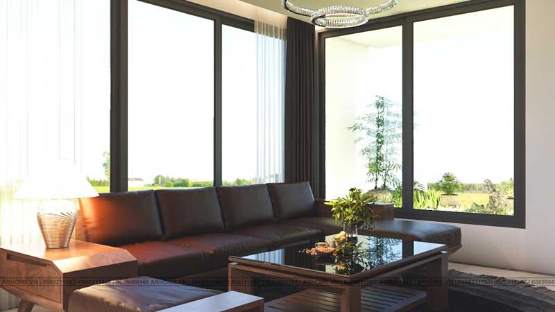 Mẫu thiết kế nội thất nhà phố KĐT mới Thanh Hà