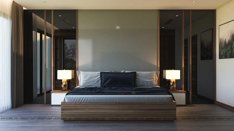 Mẫu thiết kế nhà phố 3 tầng 4.5m x 20m đẹp nổi bật với nội thất sang trọng, đẳng cấp