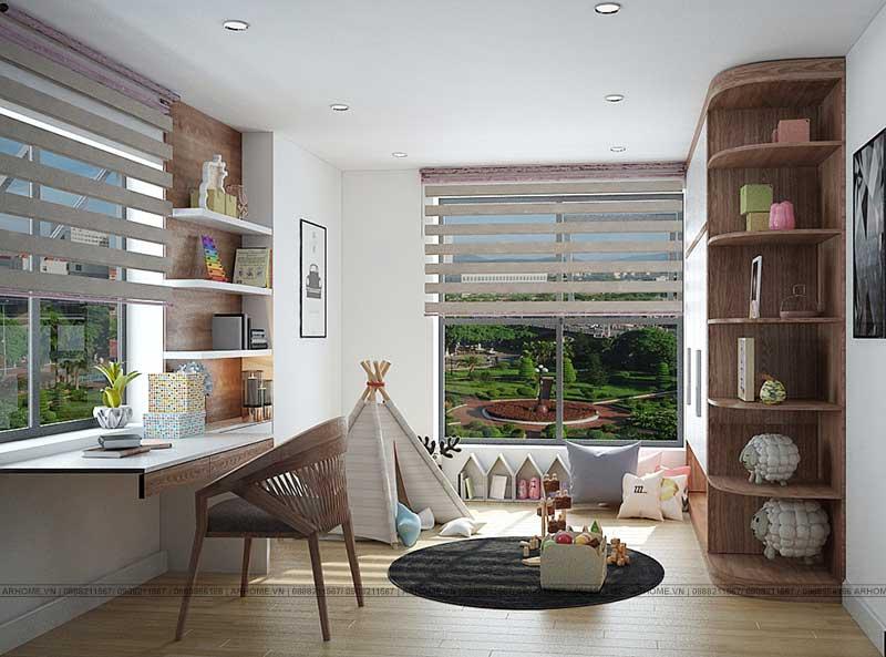Mãn nhãn với mẫu thiết kế nội thất chung cư An Bình City phong cách hiện đại (Phần cuối)