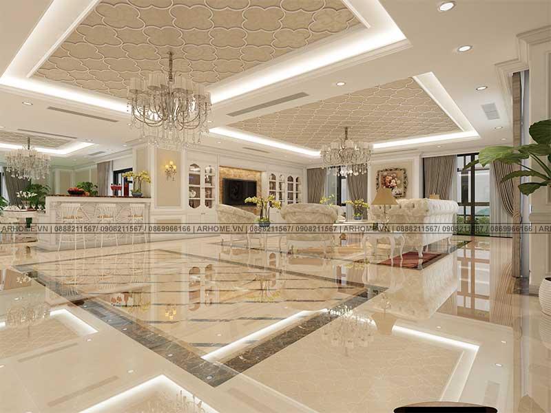 Thiết kế nội thất căn hộ Penthouse dự án Tecco Complex đẳng cấp, sang trọng (Phần 3)
