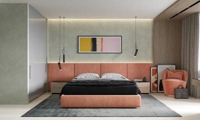 Thiết kế Nội thất căn hộ chung cư màu sắc tươi mới cho năm 2019 đầy ắp Tài - Lộc