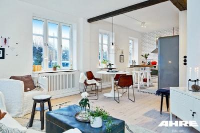 Thiết Kế Nội Thất đẹp cho Biệt thự phong cách Scandinavia phá cách ấn tượng