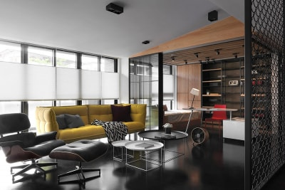 Căn hộ với phong cách nội thất công nghiệp mộc mạc