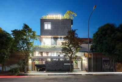 Mê mẩn ngôi nhà có bể bơi dưới tầng hầm tại Hà Nội