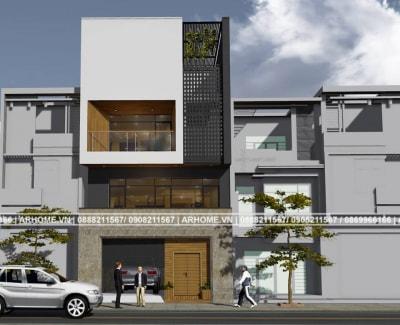 Tuyệt đẹp trong mẫu nhà phố 3 tầng của chị Anh, Nghệ An
