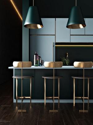 Tổng hợp 20 mẫu nhà bếp tông xanh tuyệt đẹp giúp ngày của bạn thêm tươi mới