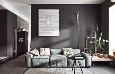 Tư vấn cách lựa chọn màu sắc khi thiết kế nội thất phòng khách hiện đại
