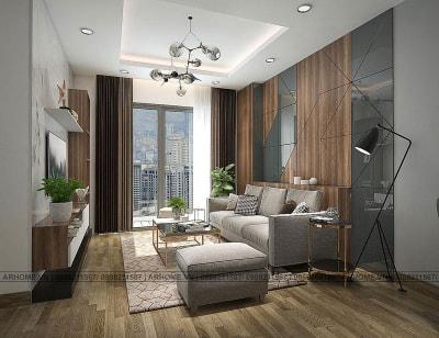 Miễn phí thiết kế chung cư Quốc tế Booyoung Vina