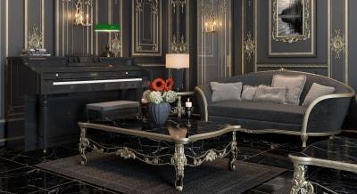 Nét tinh tế của Thiết Kế Nội Thất Phòng khách đẹp Tân cổ điển