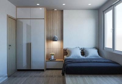 Phong cách tối giản trong thiết kế chung cư Xuân Mai Complex