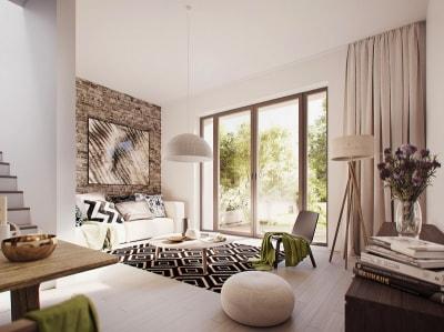 Mãn nhãn với những mẫu thiết kế nội thất nhà 2 tầng tuyệt đẹp