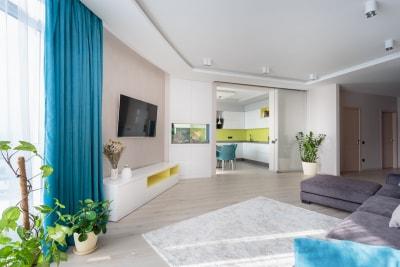 Mẫu nội thất phòng khách biệt thự đẹp ấn tượng