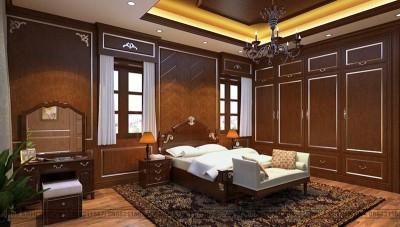 Tổng hợp những mẫu thiết kế nội thất phòng ngủ tân cổ điển đẹp hút hồn ai cũng muốn sở hữu