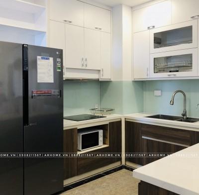 Thi công nội thất phòng bếp chung cư phong cách hiện đại