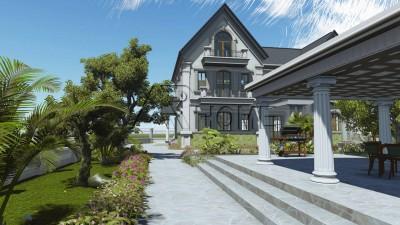 Top 5 mẫu thiết kế biệt thự sân vườn tuyệt đẹp