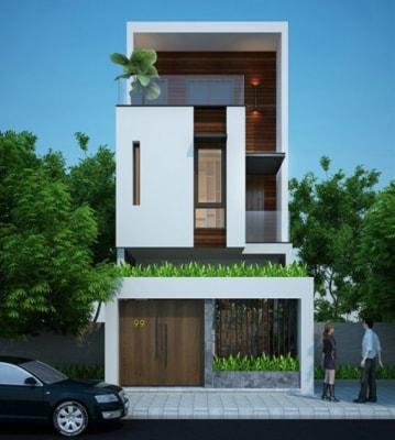Tổng hợp 10 mẫu nhà phố tuyệt đẹp 2 tầng tại Hà Nội