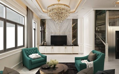 Nội thất bán cổ điển là gì? Đặc điểm và lưu ý khi thiết kế nội thất bán cổ điển