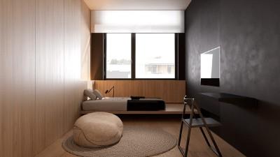 Thiết kế nội thất căn hộ tối giản giúp gia chủ thoát khỏi lo toan bộn bề