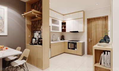 Các mẫu thiết kế nội thất phòng bếp hiện đại được chủ nhà yêu thích