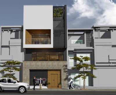 Đẹp xuất sắc với thiết kế nhà phố 2 tầng của anh Quang, Hà Nội