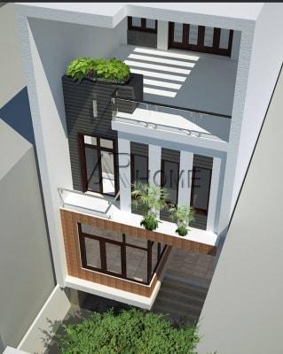 Tiện nghi với mẫu thiết kế nhà phố mặt tiền 7m tại Hà Nội