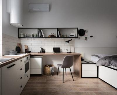 Không tưởng trong mẫu thiết kế nội thất nhà ở dưới 18m2