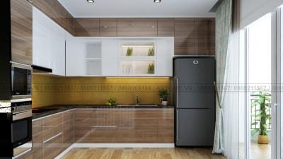 Cách thiết kế nội thất phòng bếp theo cách hiện đại