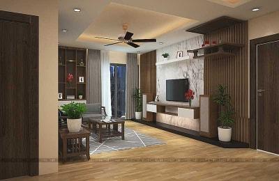 Mãn nhãn với mẫu thiết kế nội thất chung cư An Bình City phong cách hiện đại (Phần 1)