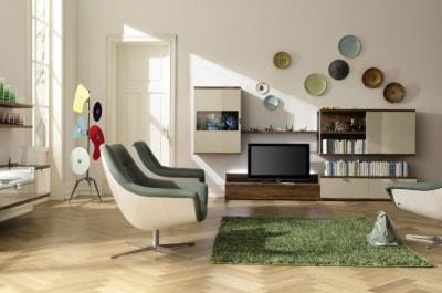 5 mẫu thiết kế nội thất phòng khách hiện đại và sang trọng