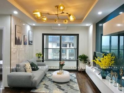 Đẹp xuất sắc với thực tế thi công nội thất căn hộ Tecco Complex