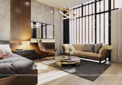 Tuyệt đẹp với thiết kế nội thất nhà liền kề 100m2 ở Thanh Hà
