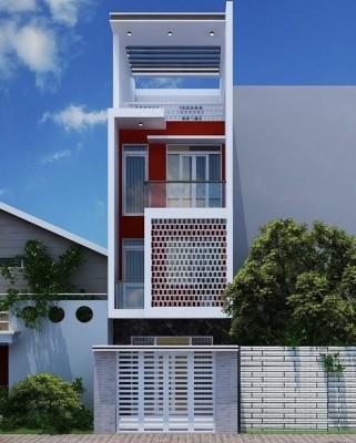 Thiết kế nhà liền kề diện tích 4,5m x 10m khoa học và tiện nghi