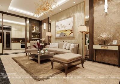 Hiện đại & độc đáo trong thiết kế nội thất liền kề Gamuda Garden của chú Hùng