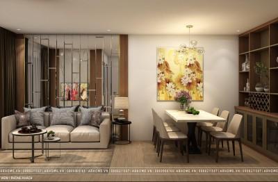 Thi công cải tạo và thiết kế nội thất căn hộ Dual Key dự án Vinhomes West Point