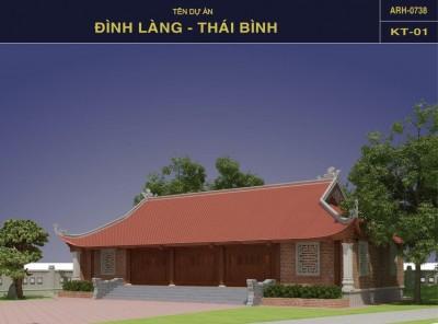 Thiết kế Đình Làng Thái Bình - Dấu ấn văn hoá, Kiến trúc Việt truyền thống