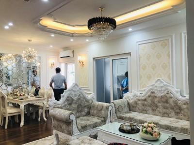 Tuyệt đẹp với thiết kế thi công nội thất trọn gói căn hộ Tân Cổ Điển