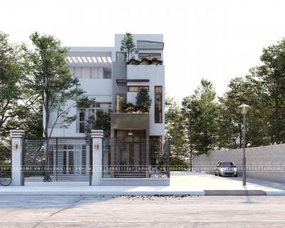 Top 3 mẫu thiết kế nhà phố 3 tầng hiện đại 5x16m ấn tượng