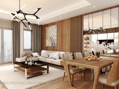 Tuyệt đẹp với mẫu thiết kế nội thất nhà ống hiện đại 3 tầng của cô Toàn