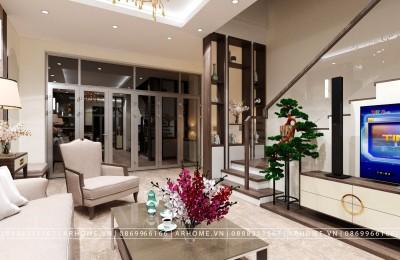 Thiết kế thi công nội thất nhà ống 5x12m theo phong cách hiện đại